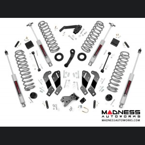 "Jeep Wrangler JK Suspension Lift Kit w/Control Arm Drop - 3.5"" Lift"